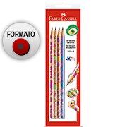 Lápis preto n.2 glits redondo SM/935GLIN Faber Castell (410603)