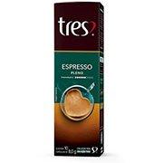 Cápsula de café espresso pleno Tres Corações (427416)