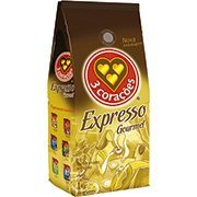 Café torrado em grão 1kg Tres Corações CX 1 UN