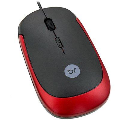 Mouse Usb Óptico Led 1600 Dpis Irlanda 0180 Bright
