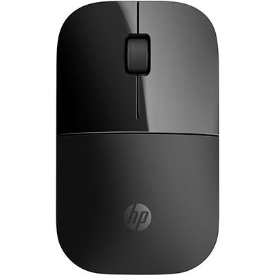 Mouse Wireless Óptico Led 1200 Dpis Z3700 Preto Vol79aa Hp