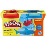 Massinha Play Doh c/2 potes 23655 Hasbro CX 1 CJ
