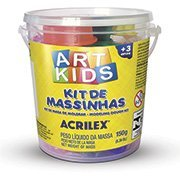 Massinha ArtKids Kit 1 40001 Acrilex PO 1 UN