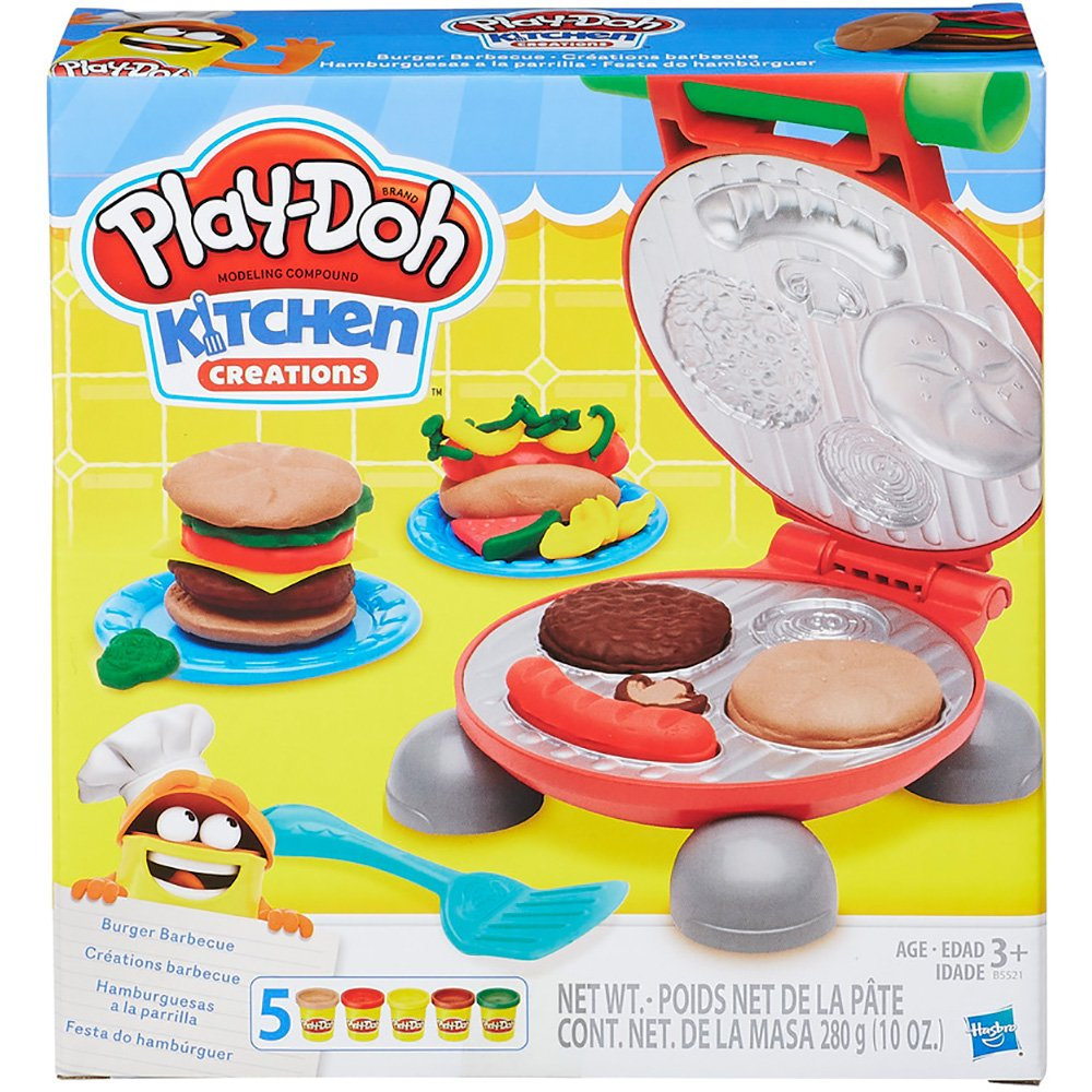 e5c326fee6 Massinha Play Doh Festa do Hamburguer B5521 Hasbro CX 1 UN
