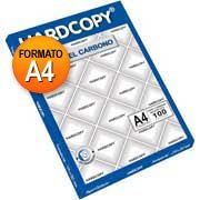 Papel carbono azul A4 HC-202 Hardcopy CX 100 FL