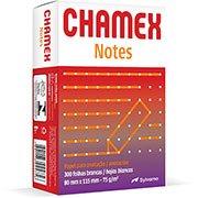 Bloco anotação s/pauta 75g 80x115 Chamex Notes Ipaper PT 300 FL