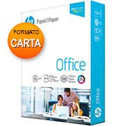 Papel sulfite 75g 216x279 CARTA hp office Ipaper PT 500 FL