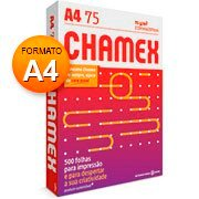 3fdc63b4a80c9 Papel Sulfite 75g Alcalino 210x297 A4 Chamex Office Ipaper PT 500 FL