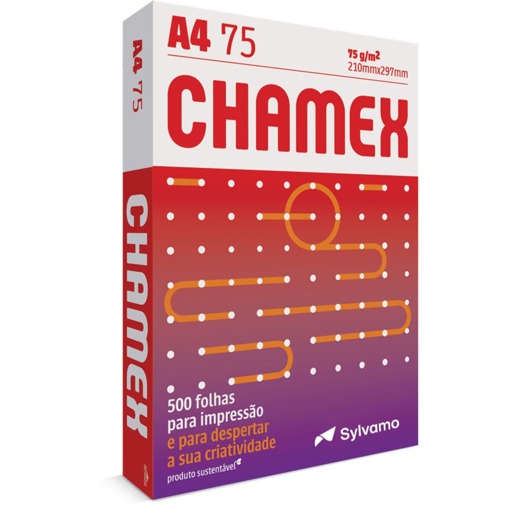 Papel Sulfite 75g Alcalino 210x297 A4 Chamex Office Ipaper Papéis