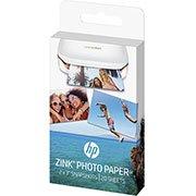 Papel fotográfico HP Zink 5x7,6 adesivo 1WS91A HP PT 20 FL