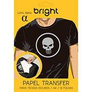 Papel transfer ink-jet p/tecidos escuros (A4) 0020 Bright (479685)