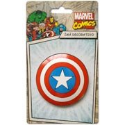 Im� Marvel Escudo Capit�o Am�rica PVC-00600 Im�s do Brasil BT 1 UN