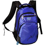 Mochila nylon azul MC1609 Yes PT 1 UN