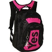 Mochila nylon 2 div. e bolso frontal p/notebook pt/rs MC2010 Yes PT 1 UN