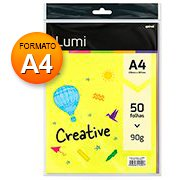 Creative Lumipaper 90g A4 c / 5 cores Spiral
