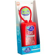 Álcool em gel anti-séptico 70ml Holder rosas Hi Clean PT 1 UN