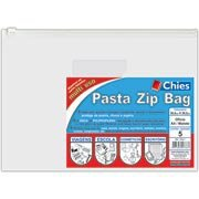 Pasta Zip versátil cristal 360x260mm 2783 Chies PT 5 UN