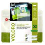 Embalagem Press-Lok 17,9x14,5cm c/2 abraçadeiras 95165 Velcro (604460)