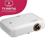 Projetor multimídia portátil com TV PH550U Lg
