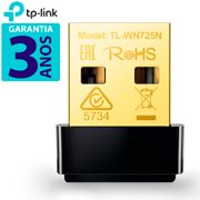 Adaptador Wireless 150 mbps 802.11n usb Nano TL-WN725N Tp Link CX 1 UN