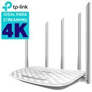 Roteador wireless 4 portas Dual Band AC 1.35 Gbps C60 Tp Link CX 1 UN