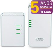 Repetidor wireless Kit Powerline AV500Mbps DHP-W311AV D Link CX 1 UN