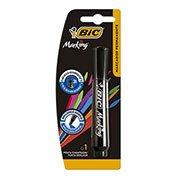 Pincel marcador permanente 3,0mm recarregável preto 904213 Bic (617031)