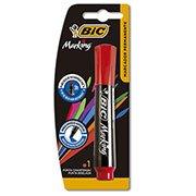 Pincel marcador permanente 3,0mm recarregável vermelho 904214 Bic (617034)