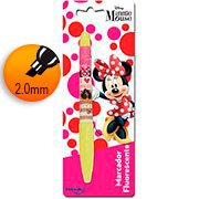 Pincel marca texto chanfrado Minnie 22389 Molin BT 1 UN