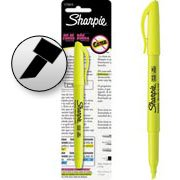 Pincel marca texto pocket amarelo 1776919 Sharpie BT 1 UN
