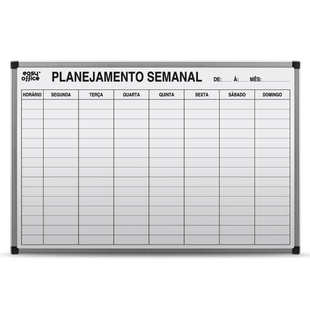 Quadro branco 90x60 planejamento mensal alum nio al 9060ps for Aviso de ocacion mural