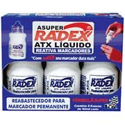 Reabastecedor p/pincel permanente 40ml azul Tonbras CX 3 UN