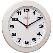 9e74ca55367 Relógio de Parede 21cm plástico branco 6103-021 Herweg CX 1 UN