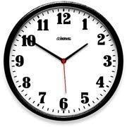 6ee70cff673 Relógio de Parede 26cm plástico preto 6126-034 Herweg CX 1 UN