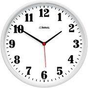 5e90474b04a Relógio de Parede 26cm plástico branco 6126-021 Herweg CX 1 UN