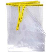 Saco c / aba adesivada transparente 30x22,5cm 1694 DAC