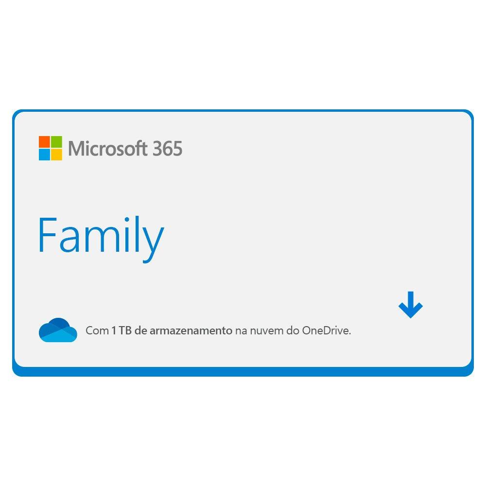 c296f8b7c Office 365 Home  1 licença para até 5 usuários (PC