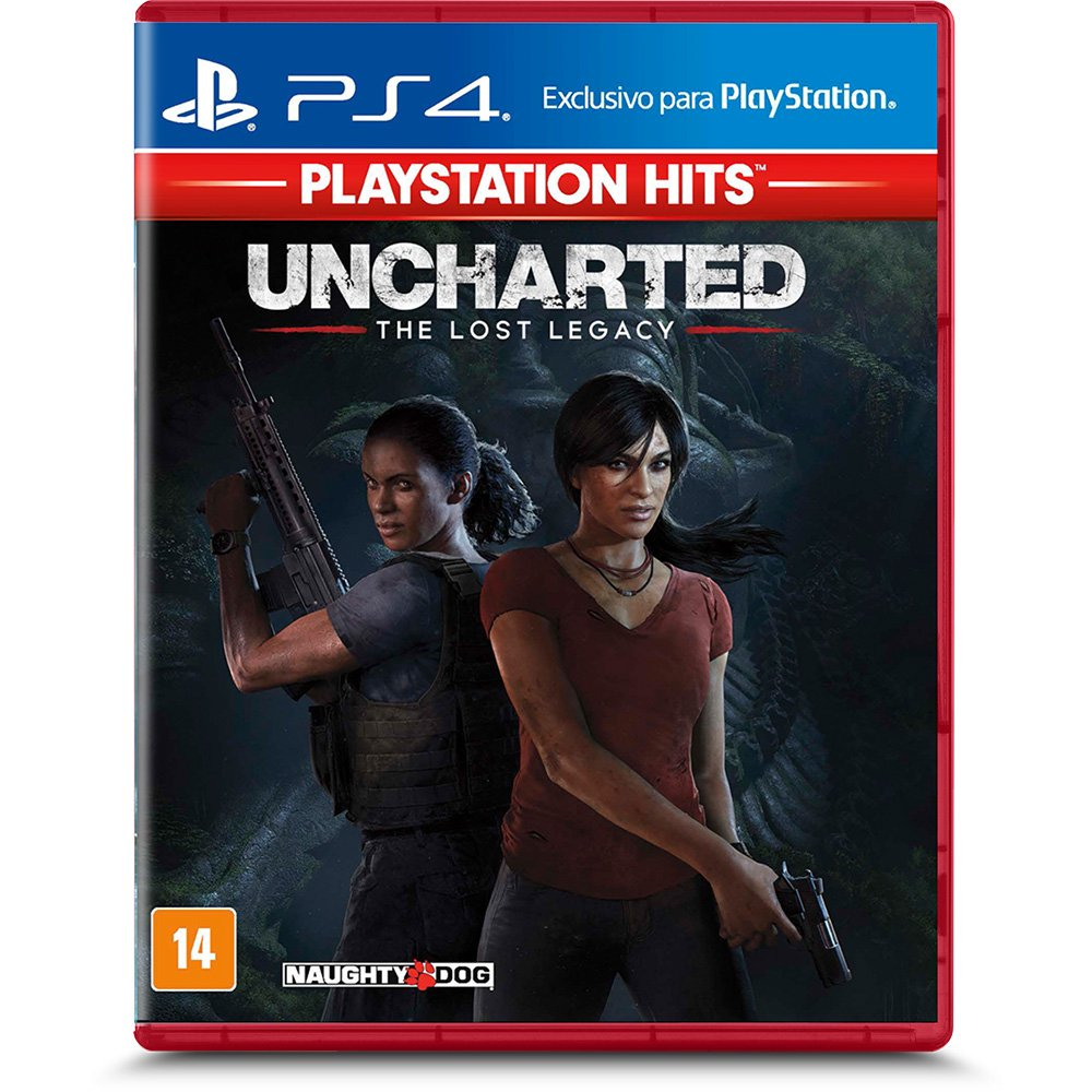 Jogo Uncharted: The Lost Legacy Hits - Playstation 4 - Naughty Dog