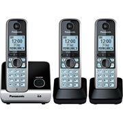 Telefone s / fio Dect 6.0 c / id + 2 Ramais KXTG6713LB Panasonic