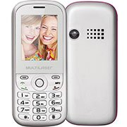 Telefone celular Up P3293 Dual Chip VGA branco 1.8