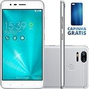 Smartphone Zenfone 3 Zoom ZE553KL, Android 6.0, Câmera de 13mp, Memória Interna de 32gb, Tela de 5.5 ´ , Prata - Asus