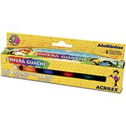 Tinta guache 15 ml (et c/6 cores)show color 02006 Acrilex CX 1 CJ