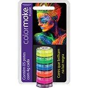 Tinta facial cremosa c/5 cores fluorescente Yur (732400)