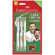 Tinta facial l�pis bicolor (6 cores) 21.0306PF Faber Castell