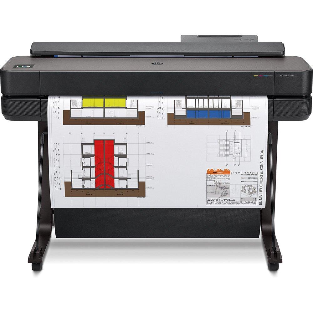 """Impressora Convencional Hp Designjet T650 36"""" 5hb10a Jato de Tinta Térmico Colorida Usb, Ethernet e Wi-fi Bivolt"""