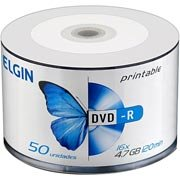 Dvd -r grav�vel 4.7gb 120min 16x printable Elgin