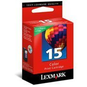 Cartucho Lexmark 15 color 7,5ml 18C2110 Lexmark CX 1 UN