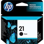 Cartucho HP 21 preto 7ml C9351AB HP CX 1 UN