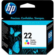 Cartucho HP 22 Colorido Original (C9352AB) Para HP Officejet J3680, J5508, Deskjet F2224 CX 1 UN