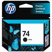 Cartucho HP 74 preto Original (CB335WB) Para HP Deskjet D4360, D4260 Photosmart C4424, C4440, C4524, C4480 CX 1 UN